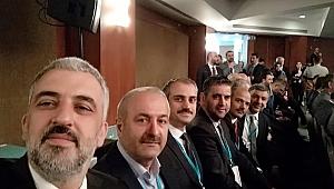 Başkanlar kampta Erdoğan'ı dinlediler