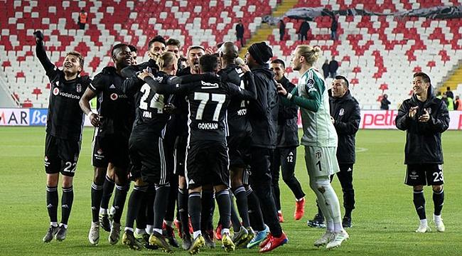 Beşiktaş 6'da 6 peşinde