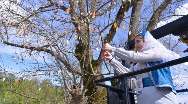 Bu ağacın meyveleri sevgi veriyor