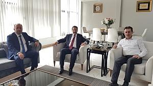 Cemil Yaman, Demirci'yi ziyaret etti