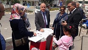 CHP Darıca'dan çocuk istismarına karşı imza kampanyası