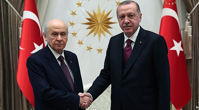 Cumhurbaşkanı Erdoğan Bahçeli'yi kabul edecek