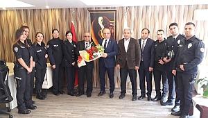 Darıca'da başarılı polisler ödüllendirildi