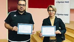 Darıcalı sağlık çalışanları, başarı sertifikası aldı