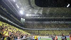 Galatasaray derbisine müthiş atmosfer