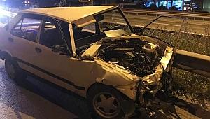 Gebze'de feci kaza! 1 ölü,2 yaralı