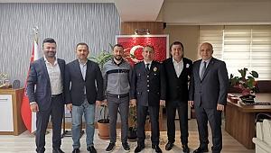 Gebze Polis Derneği Murat Müdürü ziyaret etti!