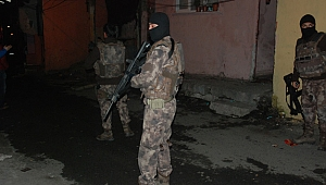 Gebze ve Darıca'da Şafak operasyonu…