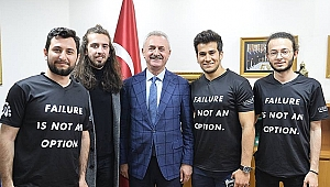 GTÜ öğrencileri, Çiler'i ziyaret etti