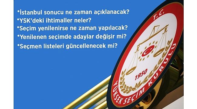 İtiraz ve başvurular yapıldı! Gözler YSK'nın İstanbul kararında