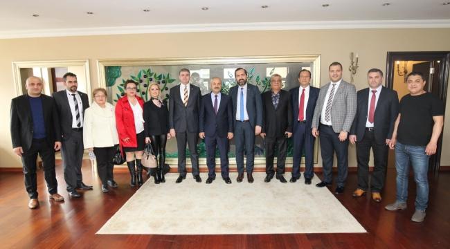 İYİ Parti Gebze, Büyükgöz'ü ziyaret etti