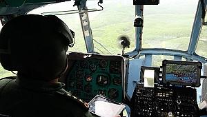 Jandarma Kocaeli'yi havadan denetledi