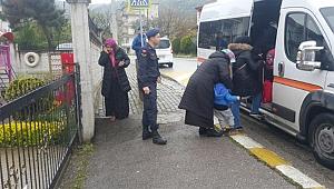 Jandarma uygulamasında 7 şahıs yakalandı