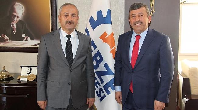 Karabacak'tan Büyükgöz'e hayırlı olsun ziyareti