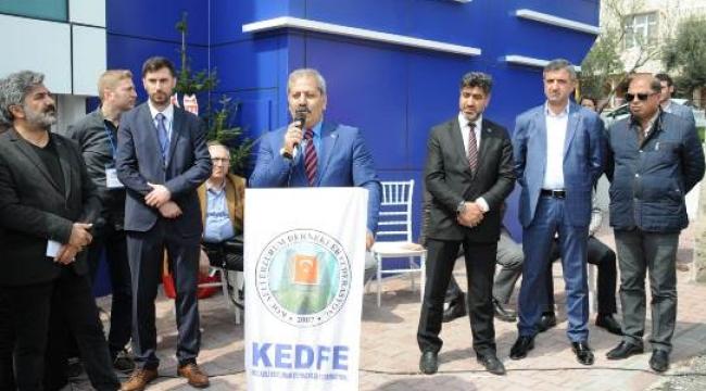 KEDFE yeni binasına kavuştu