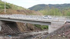 Kocaeli'de o köprü, 7 köyü birbirine bağladı!