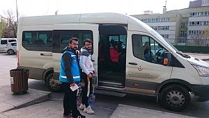 Kocaeli Devlet'ten oy kullanmak isteyen hastalara destek