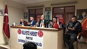 MHP Çayırova, Türkeş için Kuran okuttu