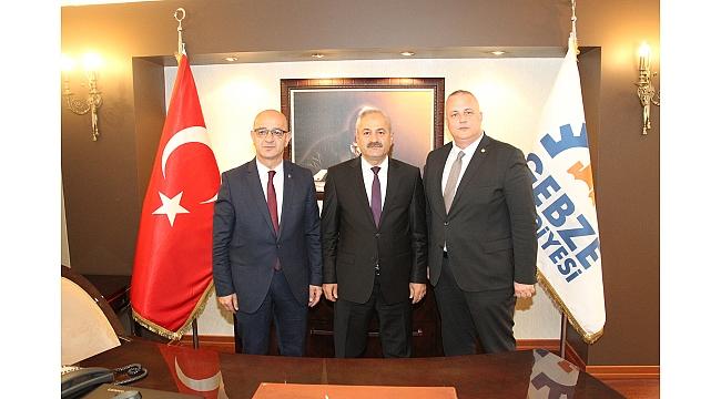 MHP İl Başkanı Ünlü'den  Büyükgöz'e Hayırlı Olsun Ziyareti
