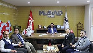 Rektör Aslan, MÜSİAD Gebze'yi ziyaret etti
