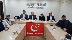 Saadet seçim sonrası toplandı