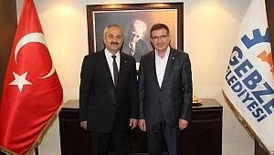 Başkan Büyükgöz'e  tebrik ziyaretleri