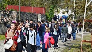 Turizm Haftası'nda Örcün Saraylı Doğa turu yapıldı