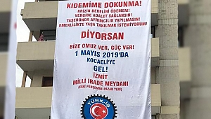 Türk-İş 1 Mayıs'ı Kocaeli'de kutlayacak