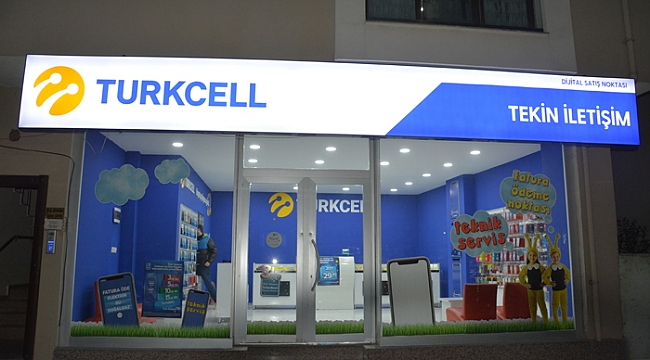 Turkcell Tekin İletişim Darıca'da açıldı