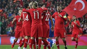 Türkiye FIFA dünya sıralamasında yükseldi
