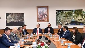 Vali Aksoy, Bulgar heyetle GGOSB'de buluştu