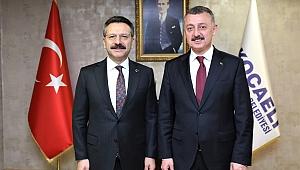 Vali Aksoy'dan Başkan Büyükakın'a iade-i ziyaret