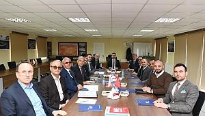 Vali Aksoy, İMES OSB toplantısına katıldı