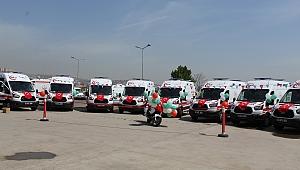 Yeni ambulanslar hizmete girdi