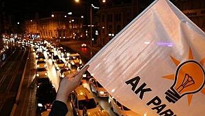 AK Parti'li heyet Ankara'da