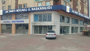 AK Partililerin kulağı genel merkezde