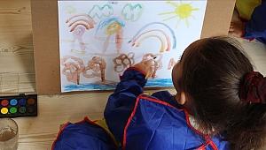 Anaokuluna gidemeyen çocuklara yazın eğitim imkanı