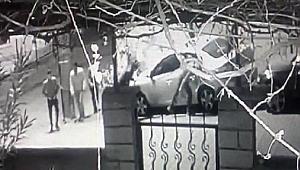 Araçların lastiklerini bıçaklayan şüpheliler yakalandı