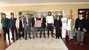Başkan Büyükgöz'e ziyaret akını sürüyor