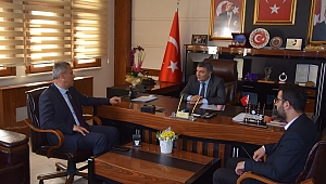 Başkan Şayir'e ziyaretler sürüyor