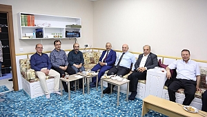Başkanlar,Darıca İlim Yayma Cemiyeti'ne konuk oldu
