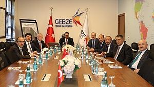 Batı Karadeniz Üniversiteleri Birliği, GTÜ'de toplandı