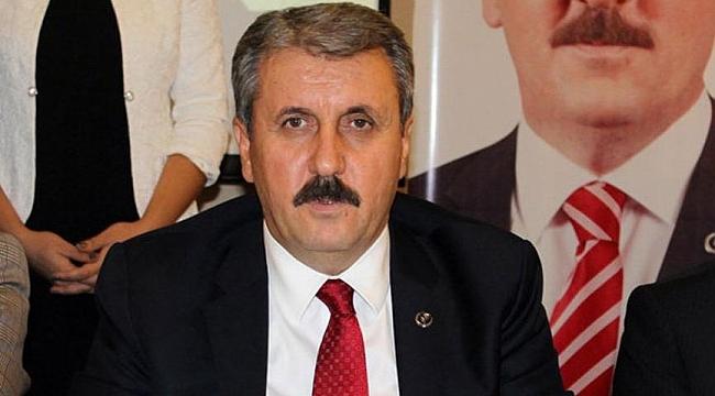 BBP Başkanı Mustafa Destici, Kocaeli'ye geliyor