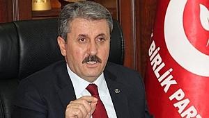 BBP lideri Destici'den Kocaeli'ye övgü