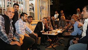 Bıyık,Ramazan'da sokak sokak geziyor