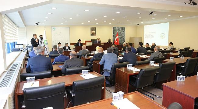 Çayırova'da meclis toplantısı yapıldı
