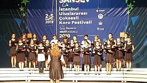 Çocuk korosu İstanbul 7.Sansev Festivalinde