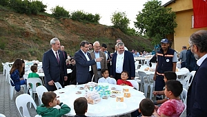 Cumaköy, iftar programında bir araya geldi