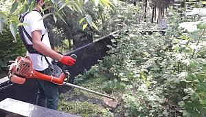 Darıca'da mezarlıkların bakım ve temizliği yapılıyor