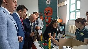 Darıca'da robotik kodlama sergisi